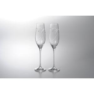 WEDGWOOD(ウェッジウッド) <プロミシス> トゥーハーツ シャンパンペア