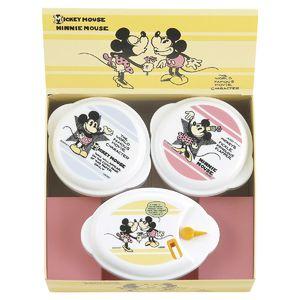 Disney <ミッキー&ミニー>電子レンジ容器3P